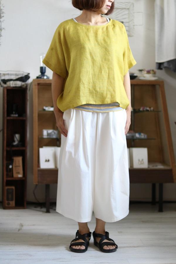 画像1: pot-pourri メリュ半袖プルオーバー 3色