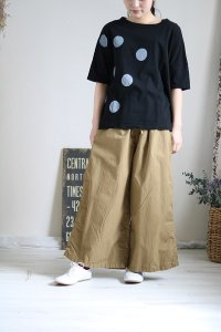 HTS COTTON EASY PANTS 2色