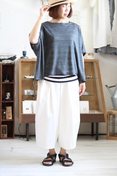 画像1: pot-pourri ミュレビックTシャツ 3色