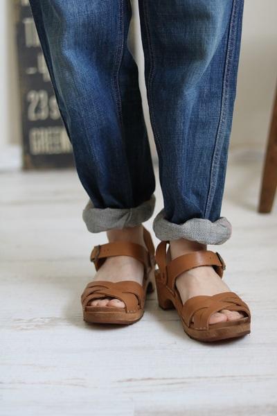 画像1: EXPERT  regular heel sandal strap 2色