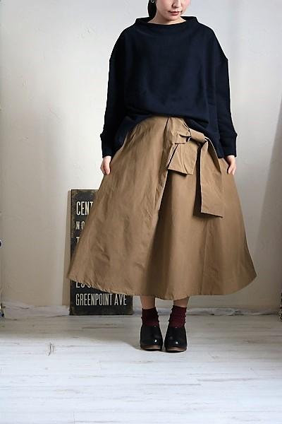 画像1: Gauze# G305 サイドリボンスカート 2色