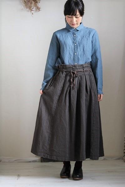 画像1: nachukara リネンレギュラーシャツ 3色
