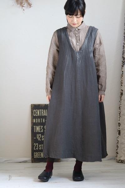 画像3: nachukara リネンレギュラーシャツ 3色