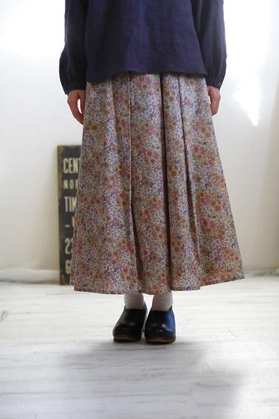画像2: crespi リバティスカート 2柄