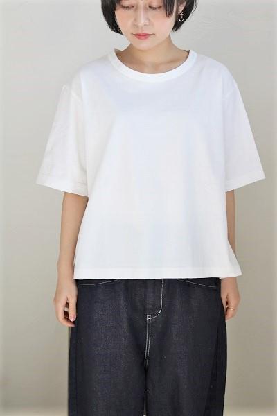 画像1: tumugu スープレコットン天竺5分袖Tシャツ 3色