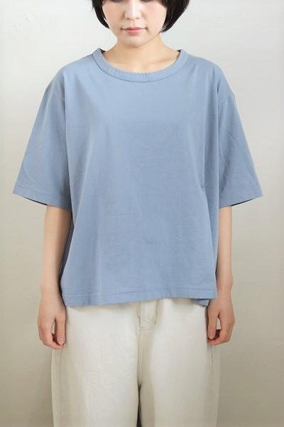 画像3: tumugu スープレコットン天竺5分袖Tシャツ 3色