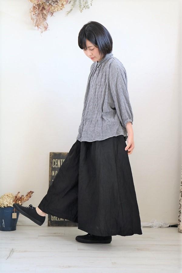 """画像2: Gauze# リネン""""SHIKIBU""""パンツ 2色"""
