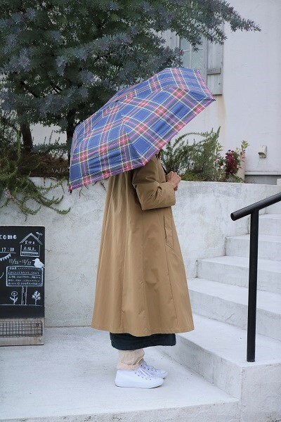 画像1: ichi 晴雨兼用 折り畳み傘(Loiter)