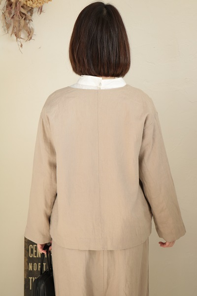 画像5: nachukara ノーカラージャケット