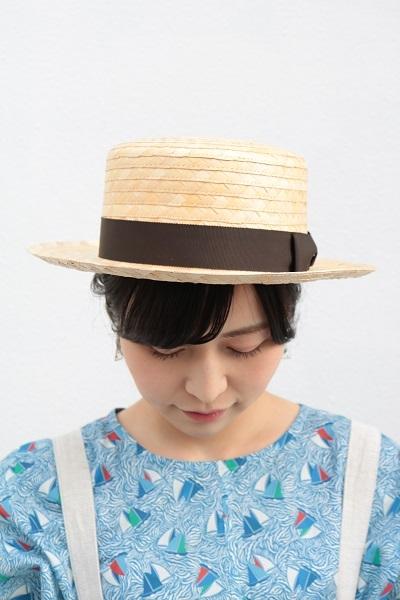 画像1: humming bird ヤシブロードカンカン帽