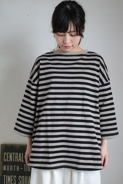 画像1: NARU クロックムッシュTシャツ 2色