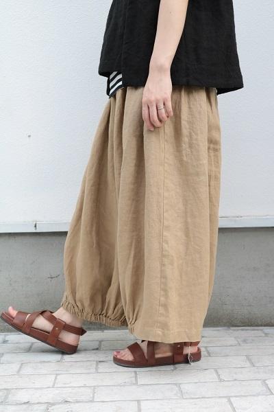 画像1: nachukara 裾ゴムバルーンパンツ 4色